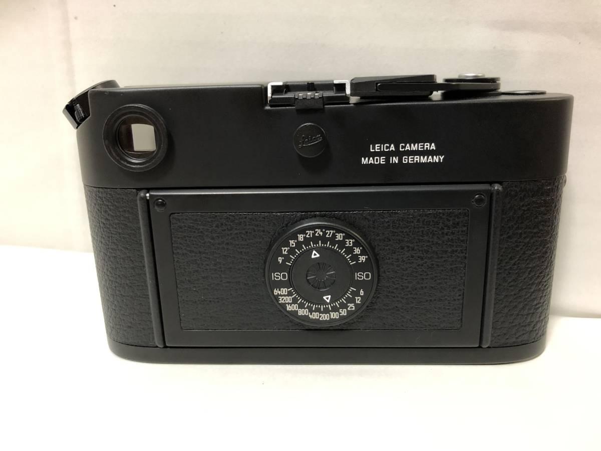 1円~ 極美品 LEICA ライカ M6TTL 0.85 BLACK 黒 _画像4