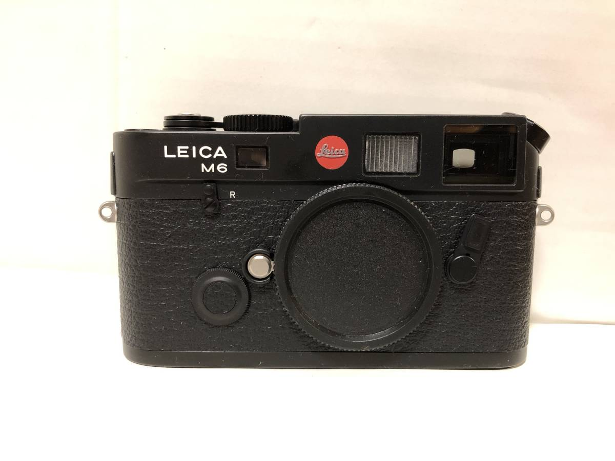 1円~ 極美品 LEICA ライカ M6TTL 0.85 BLACK 黒