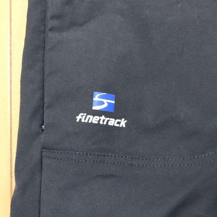 finetrack ファイントラック ストームゴージュ アルパインパンツ 撥水 ベルト付き Sサイズ グレー 登山 トレッキングに 日本製! 送料360円_画像3