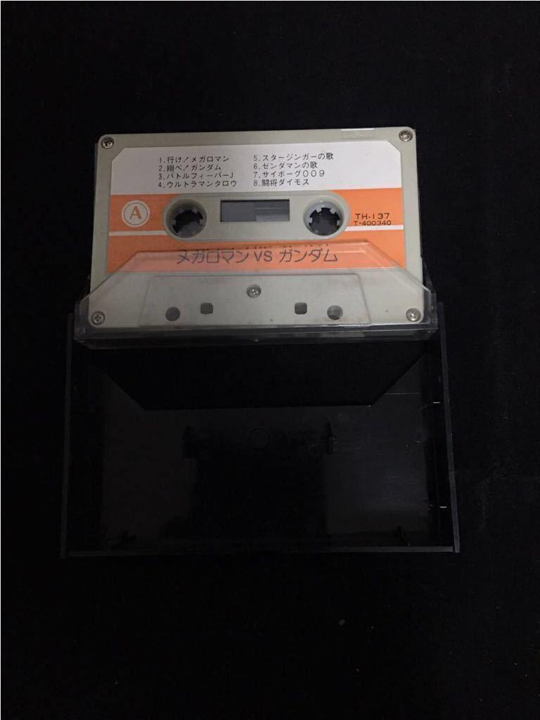 希少 パチソン カセットテープ メガロマンvsガンダム_画像3