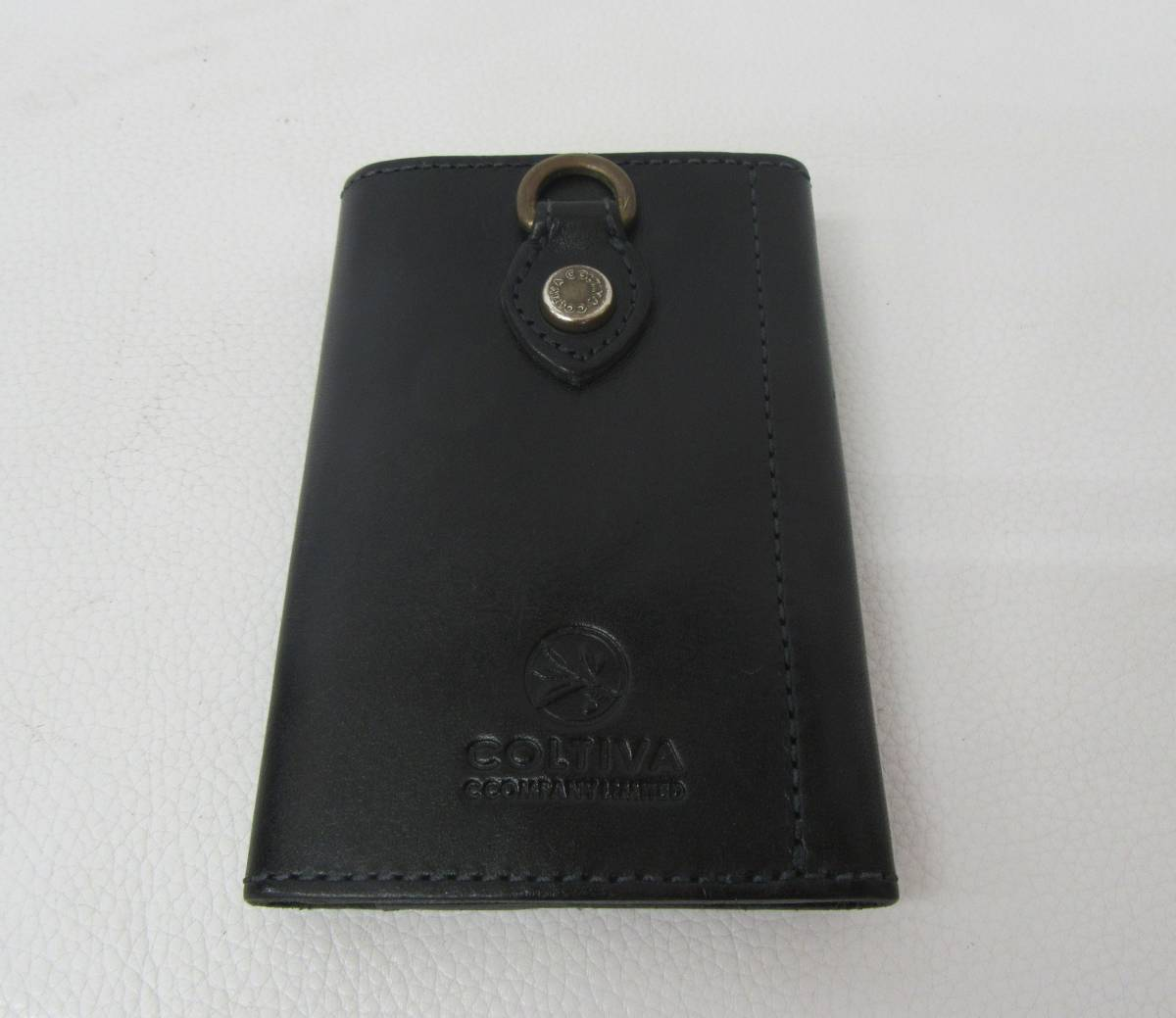 【中古品】COLTIVA コルティヴァ 5連キーケース ブラック_画像3