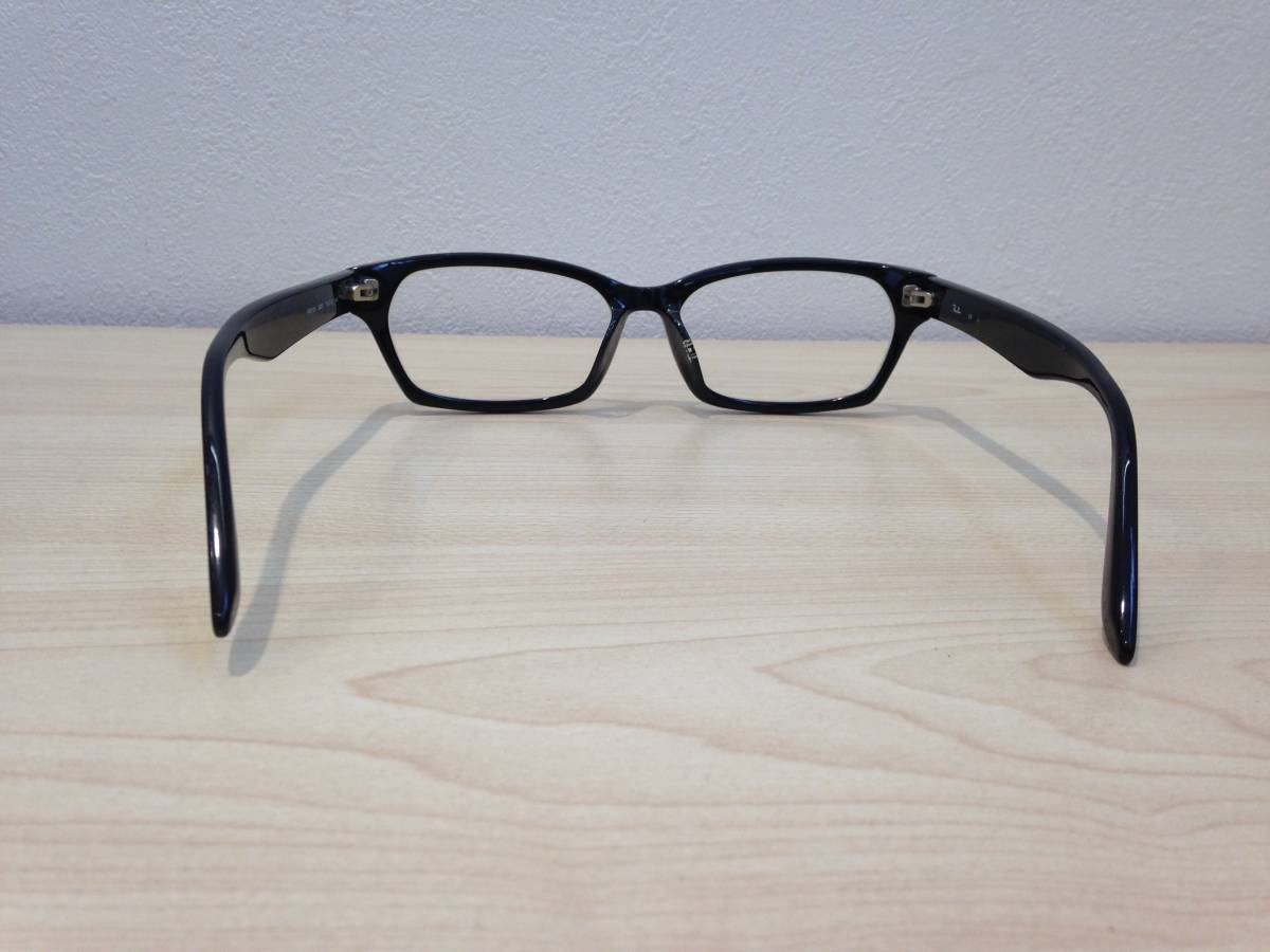 《1713》RayBan(レイバン) 眼鏡 メガネ フレーム RB5130-2000-55 ブラック ドラゴンアッシュモデル KJ ASIAN FIT_画像4