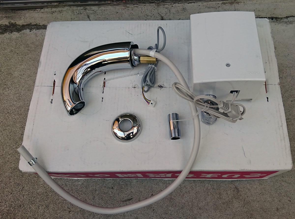 TOTO アクアオート 自動水栓 TENA40A 単水栓 未使用 開封品 訳あり品_画像3