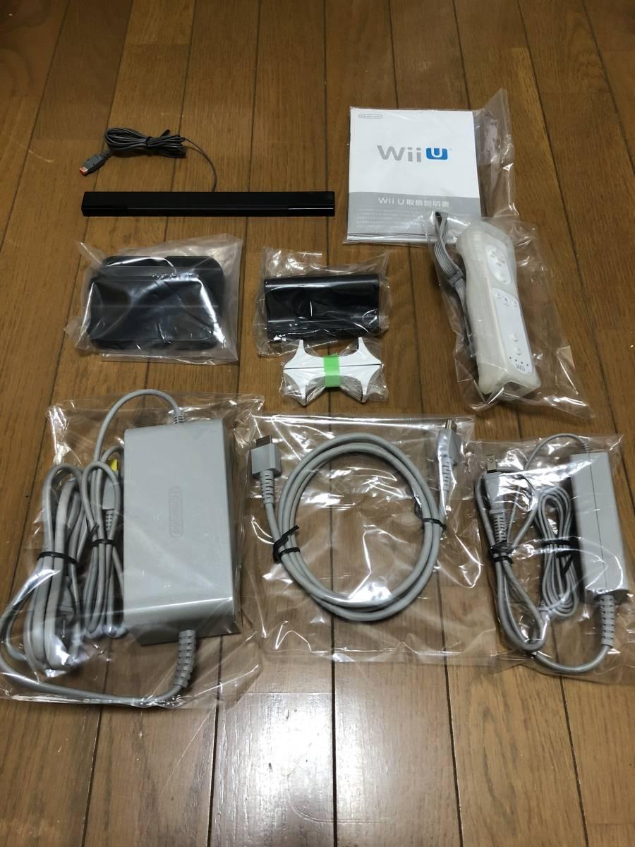 ★ほぼ新品 完品★ Wii U すぐに遊べる スポーツプレミアムセット 画面傷なし_画像6