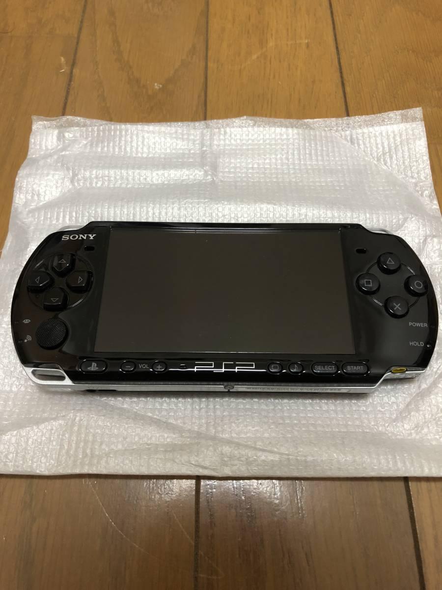 ★美品 完品★ PSP-3000 ピアノブラック (PSP-3000PB) 動作確認済み _画像3