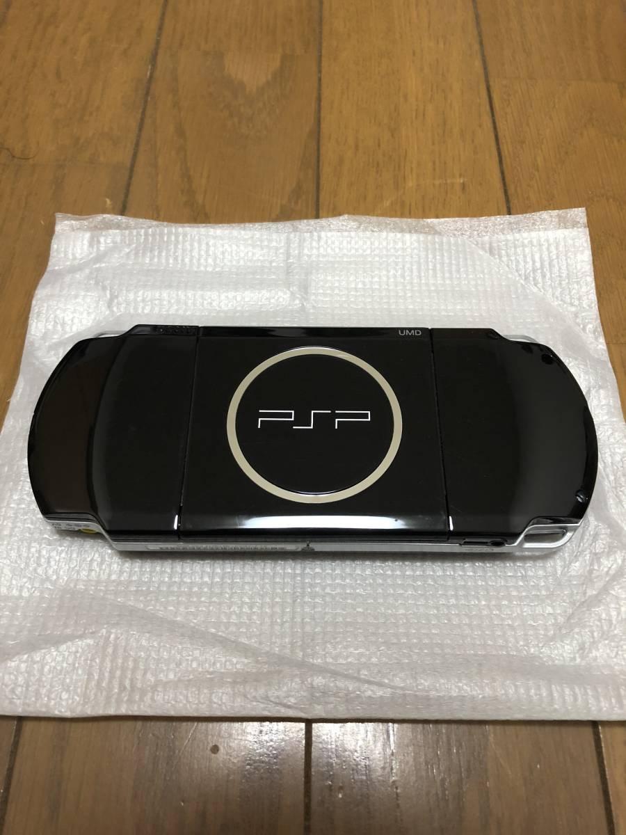 ★美品 完品★ PSP-3000 ピアノブラック (PSP-3000PB) 動作確認済み _画像4