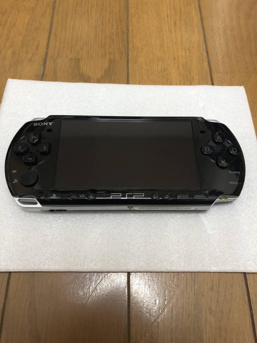 ★超美品★ PSP-3000 ピアノブラック  (PSP-3000PB) オマケでメモリースティック、ケース、Start up set付き_画像3