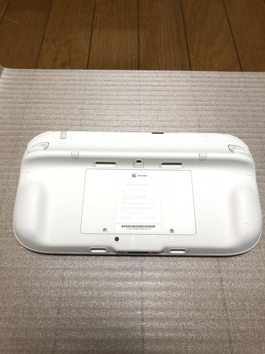 ★新品同様 完品★ Wii U マリオカート8セット 画面傷なし オマケでコントローラモーションプラス、ハンドル2個付き_画像4