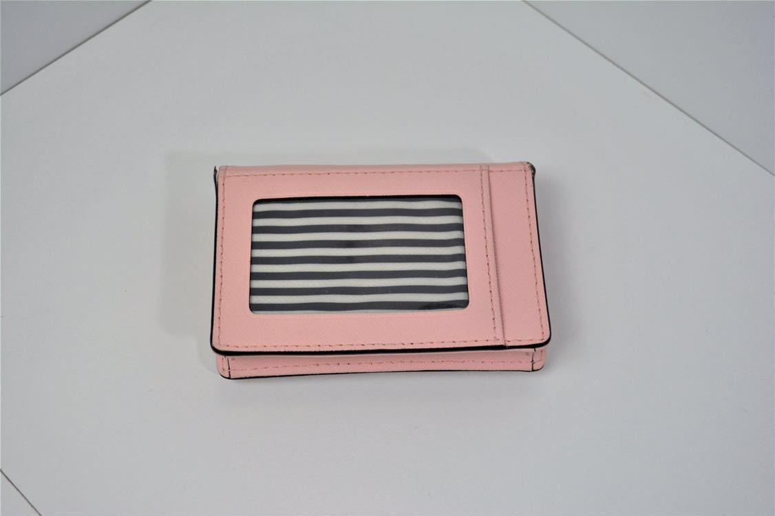 kate spade ケイトスペード ロゴ キーリング付 財布 小銭入れ コインケース 定期入れ_画像2