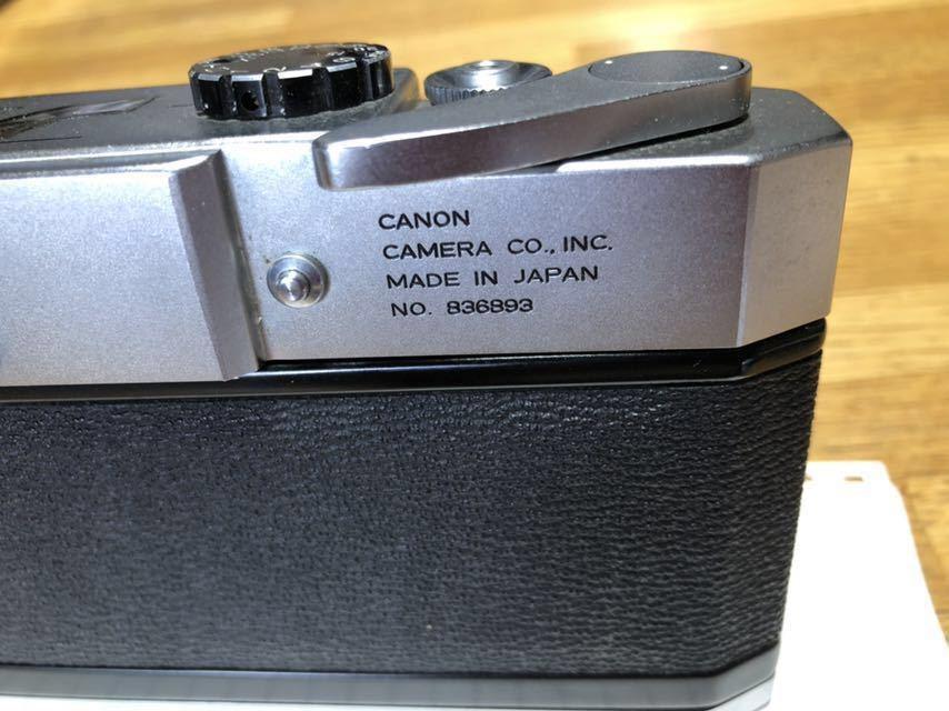 キャノン Canon モデル 7 中古_画像3