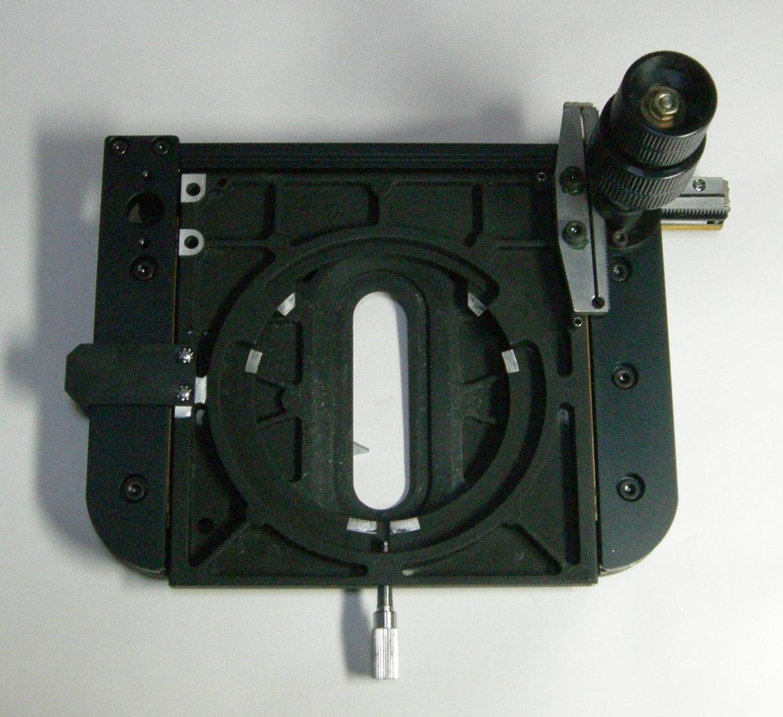 Microscope Japan 返品保証 Nikon ニコン Optiphot2 等用 XYステージ 中古 _画像2