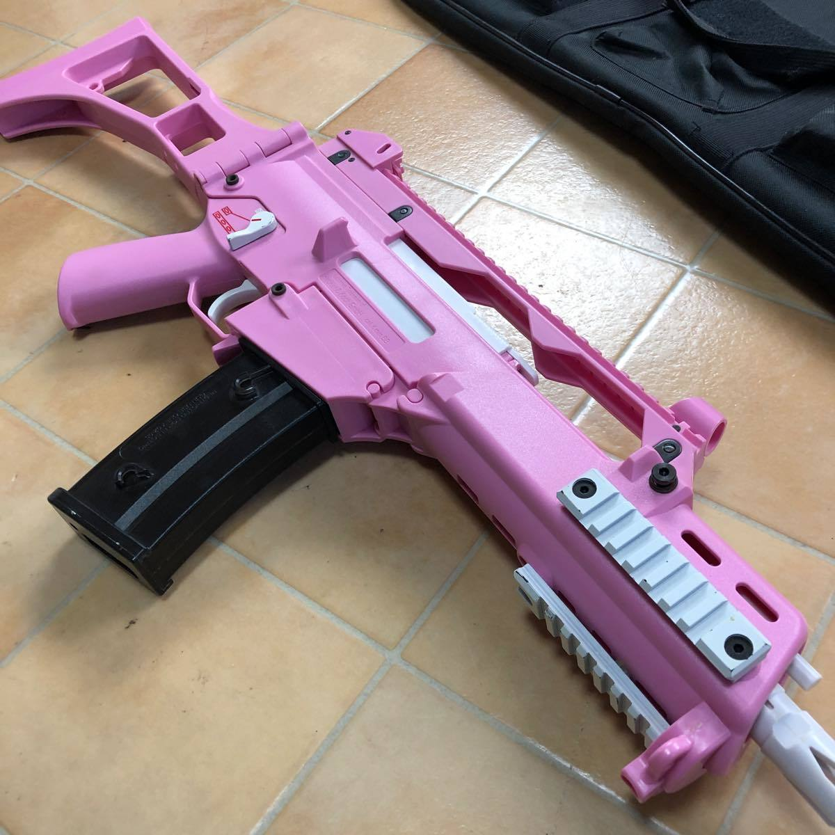 S&T G36C Competition 電動ガン Pink S&TAEG12PN  ピンク #906_画像6
