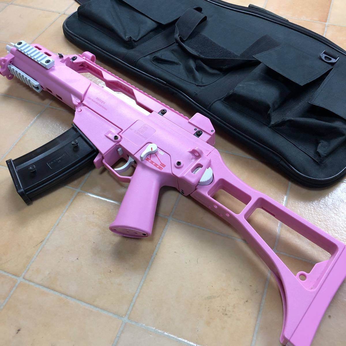 S&T G36C Competition 電動ガン Pink S&TAEG12PN  ピンク #906