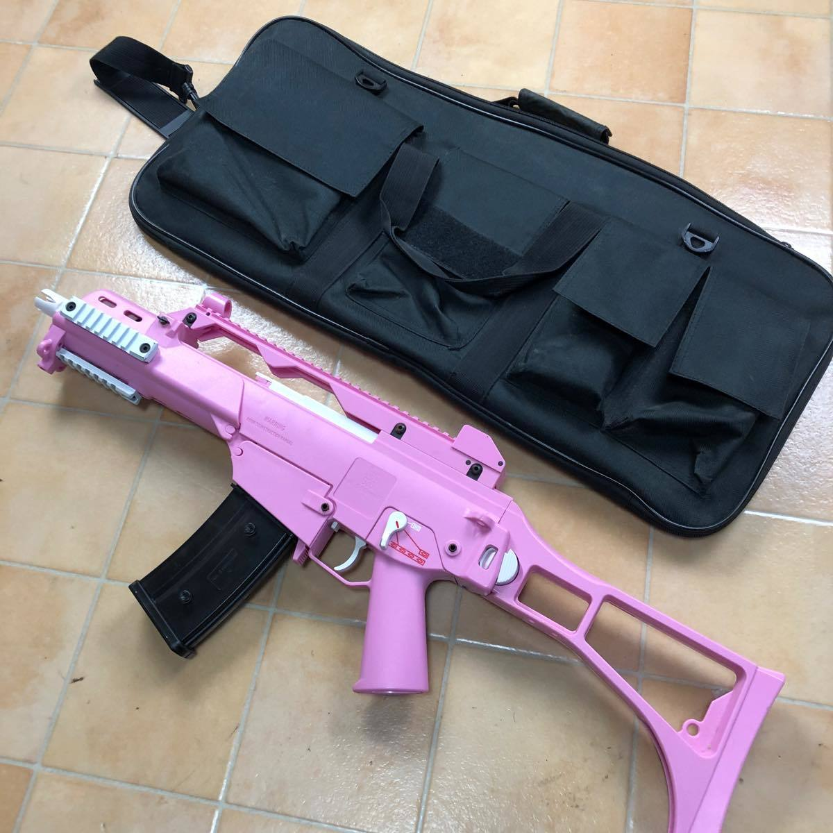 S&T G36C Competition 電動ガン Pink S&TAEG12PN  ピンク #906_画像2