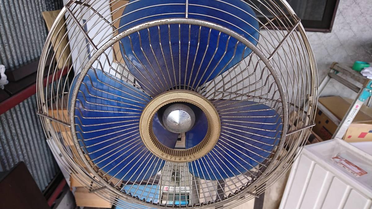 National ナショナル 扇風機 F-40WH スタンド扇 1968年(昭和30年代) 昭和レトロ アンティーク 引き取り歓迎 動作品_画像3