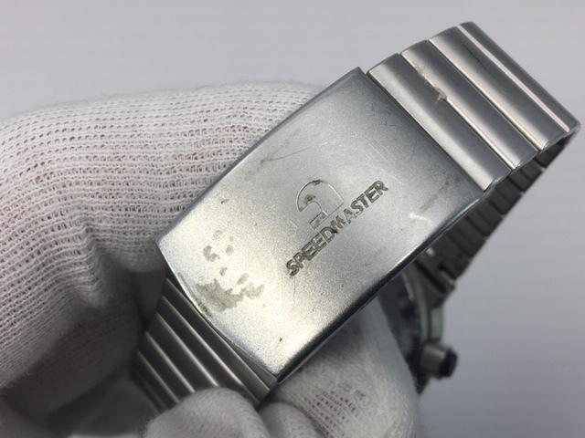 セイコー SEIKO CHRONOGRAPH クロノグラフ クオーツ 7A38-7110 スピードマスター 電池交換済み USED品_画像6