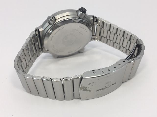 セイコー SEIKO CHRONOGRAPH クロノグラフ クオーツ 7A38-7110 スピードマスター 電池交換済み USED品_画像5