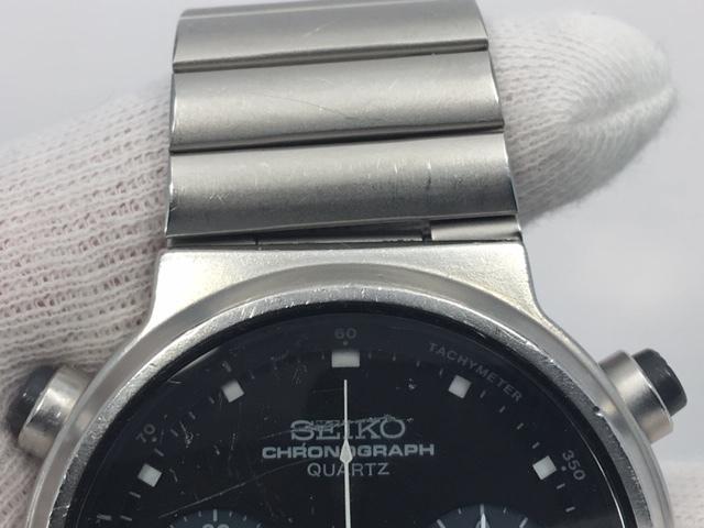 セイコー SEIKO CHRONOGRAPH クロノグラフ クオーツ 7A38-7110 スピードマスター 電池交換済み USED品_画像8