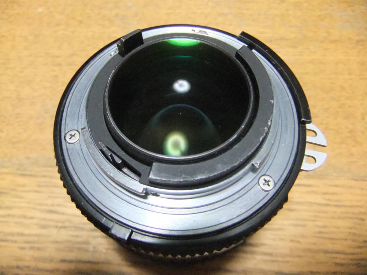 【良品中古】★Nikon Ai NIKKOR 50mm F1.4 単焦点レンズ★動作品★_画像7