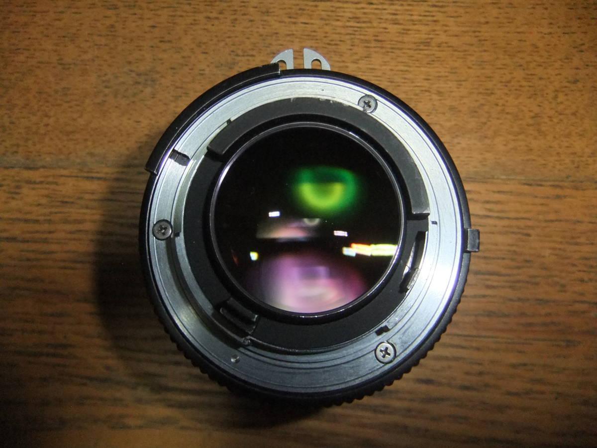 【良品中古】★Nikon Ai NIKKOR 50mm F1.4 単焦点レンズ★動作品★_画像6