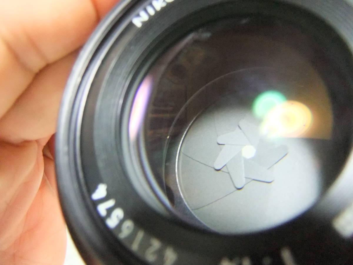 【良品中古】★Nikon Ai NIKKOR 50mm F1.4 単焦点レンズ★動作品★_画像10