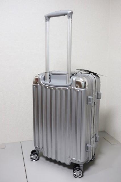 【訳あり】 スーツケース 機内持ち込み可 小型 アルミフレーム キャリーケース キャリーバッグ 4輪 双輪 人気 ビジネス 出張 2泊3泊 33L S_画像2