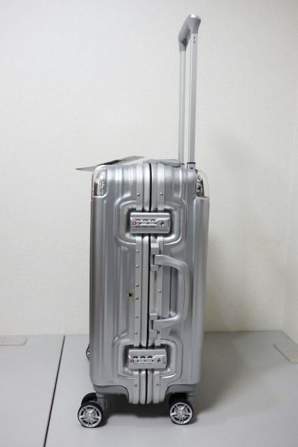 【訳あり】 スーツケース 機内持ち込み可 小型 アルミフレーム キャリーケース キャリーバッグ 4輪 双輪 人気 ビジネス 出張 2泊3泊 33L S_画像3