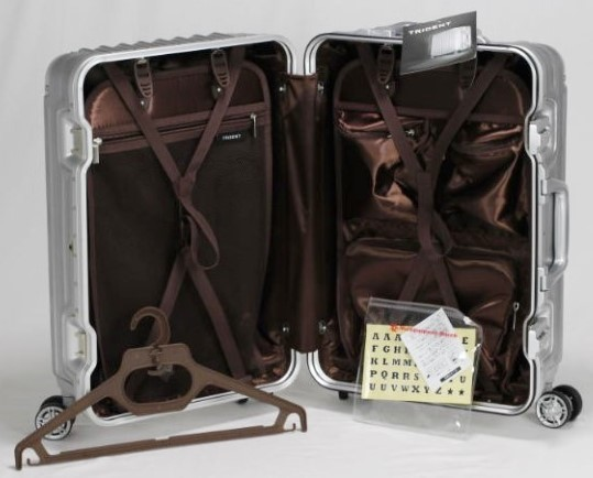 【訳あり】 スーツケース 機内持ち込み可 小型 アルミフレーム キャリーケース キャリーバッグ 4輪 双輪 人気 ビジネス 出張 2泊3泊 33L S_画像6