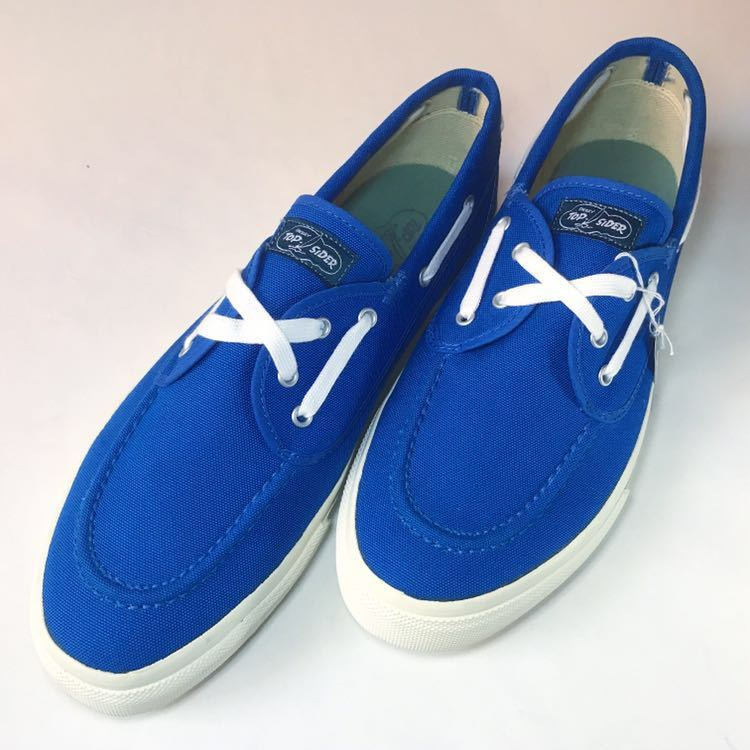 SPERRY TOP-SIDER トップサイダー デッキシューズ Authentic Sea-Mate TS003500 Blue 青 28cm_画像2