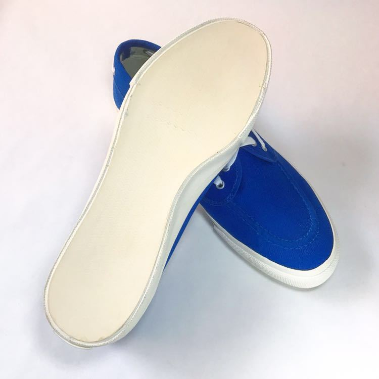 SPERRY TOP-SIDER トップサイダー デッキシューズ Authentic Sea-Mate TS003500 Blue 青 28cm_画像3