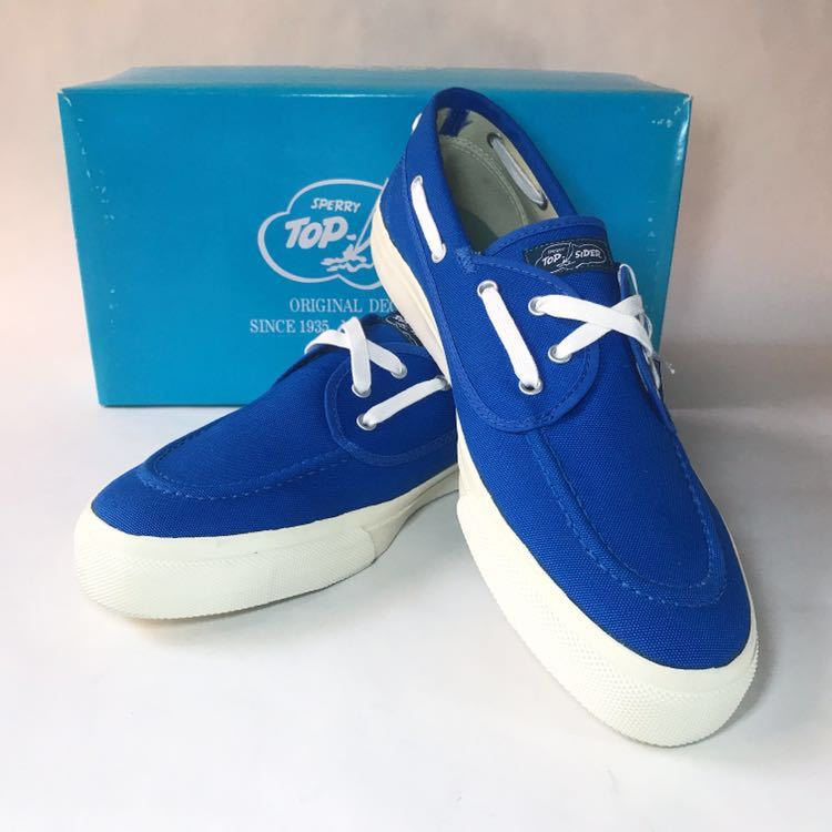 SPERRY TOP-SIDER トップサイダー デッキシューズ Authentic Sea-Mate TS003500 Blue 青 28cm