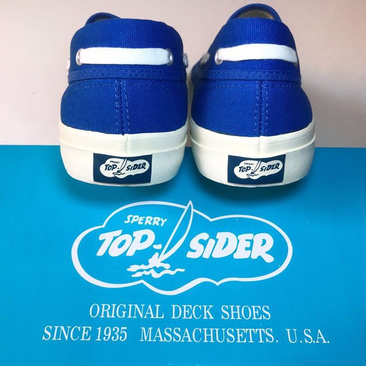 SPERRY TOP-SIDER トップサイダー デッキシューズ Authentic Sea-Mate TS003500 Blue 青 28cm_画像4