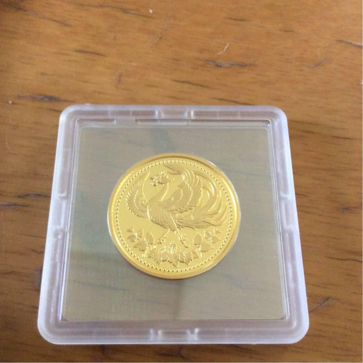 天皇陛下御在位30年記念金貨セットプルーフ貨幣セット一万円記念金貨セット_画像3
