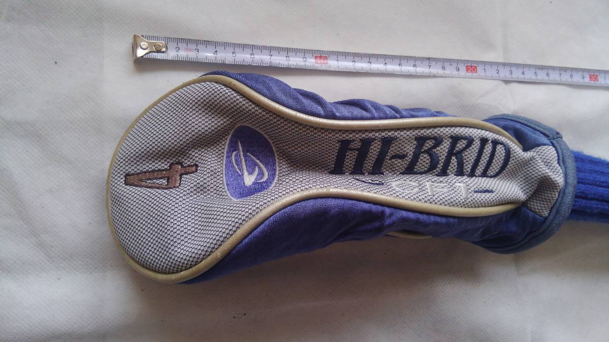 ★★HI-BRID CF1 ヘッドカバー 4W用 (青)F20_画像3