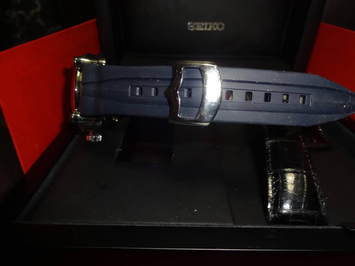 格安セイコー SEIKO ガランテ SBLL017 ザ ローリングストーンズ 限定モデル メンズ 腕時計 ウォッチ 自動巻き オートマ 【中古】 _画像9
