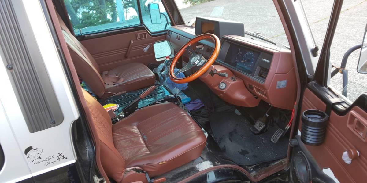 日産 キャラバン ホーミー E23 10人乗り 実働 シャコタン Z20 5MT ハコスカケンメリ30Z 当時物 レア物 ハイエース 渋い 67000キロ_画像7