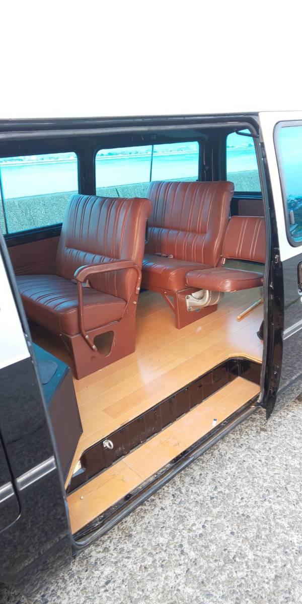 日産 キャラバン ホーミー E23 10人乗り 実働 シャコタン Z20 5MT ハコスカケンメリ30Z 当時物 レア物 ハイエース 渋い 67000キロ_画像8
