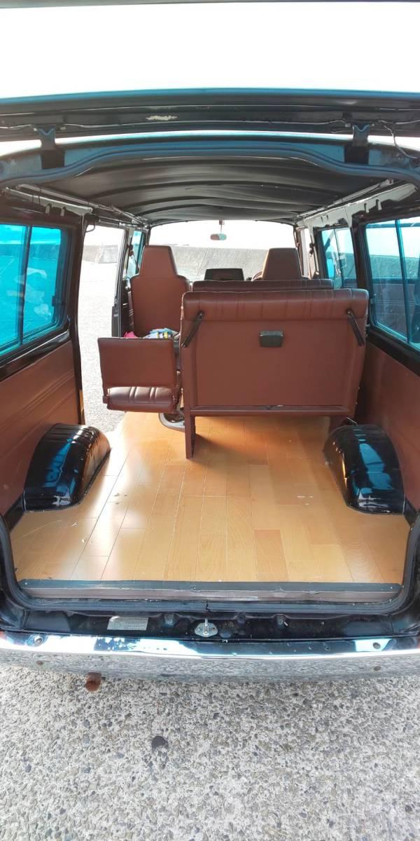 日産 キャラバン ホーミー E23 10人乗り 実働 シャコタン Z20 5MT ハコスカケンメリ30Z 当時物 レア物 ハイエース 渋い 67000キロ_画像9