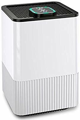 空気清浄機 Eastshining 4種浄化システム 高感度ホコリセンサー 4段階風量調節 花粉対策 脱臭 殺菌 3時間タイマー付
