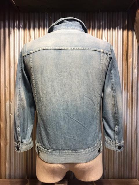 H320 メンズジャケット HARE ハレ アメカジ カジュアル ジャケット Gジャン デニム インディゴ 七分袖 タイト 細身 小さいサイズ (6)/ S_画像2