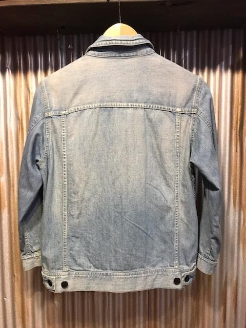 H320 メンズジャケット HARE ハレ アメカジ カジュアル ジャケット Gジャン デニム インディゴ 七分袖 タイト 細身 小さいサイズ (6)/ S_画像8