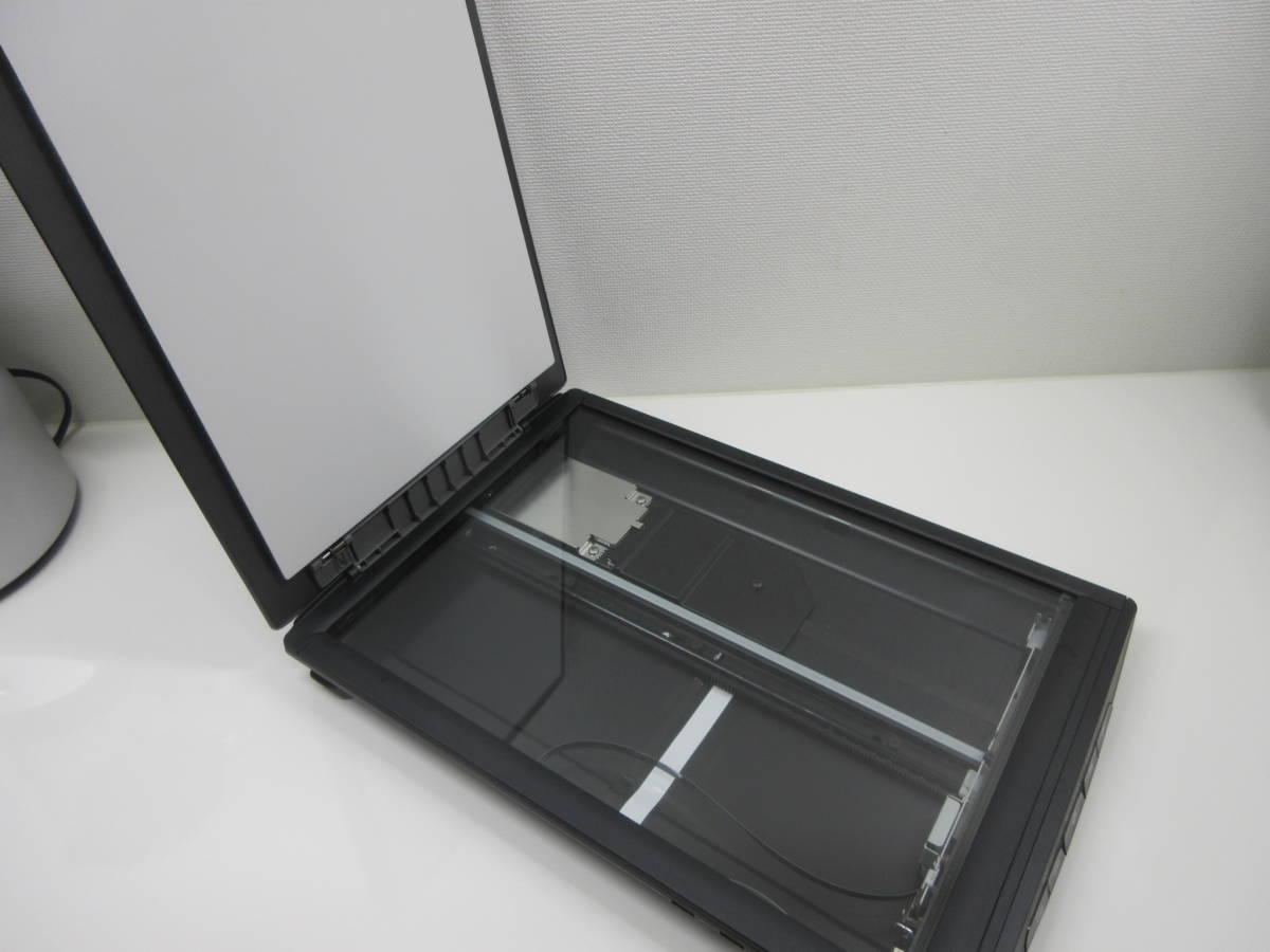 ノートパソコンに便利! 電源不要のスキャナー Canon A4フラットベットスキャナ CanoScan LiDE 210 動作確認済み 保証あり_画像2
