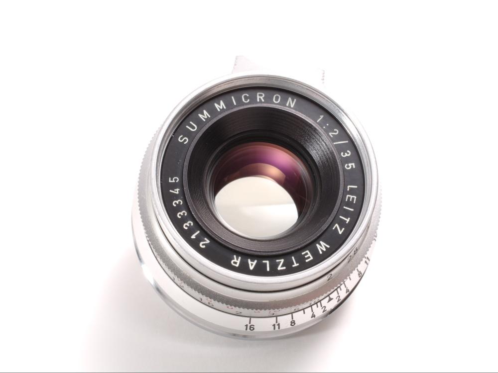 ライツ ズミクロン35mm f2 8枚玉 _画像3