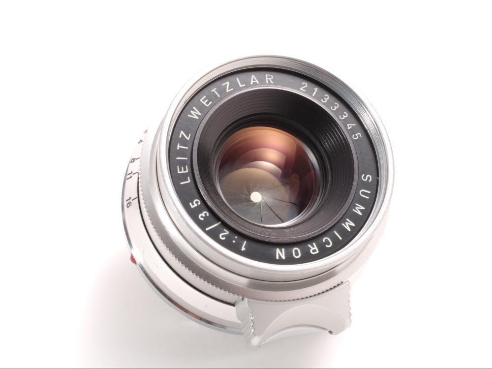 ライツ ズミクロン35mm f2 8枚玉 _画像4