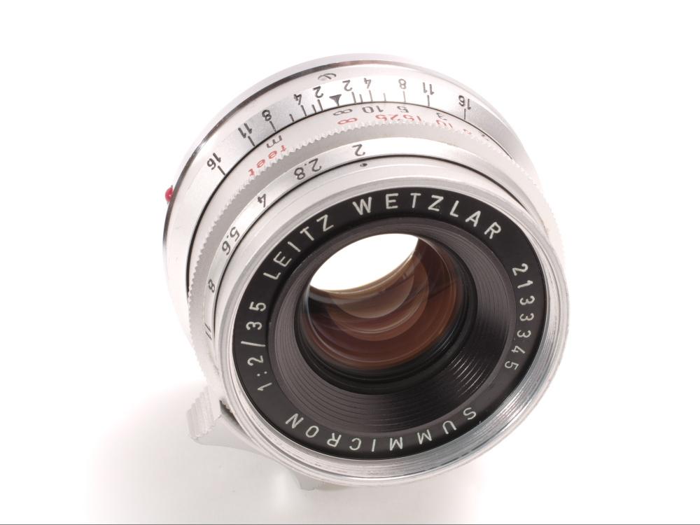 ライツ ズミクロン35mm f2 8枚玉 _画像9