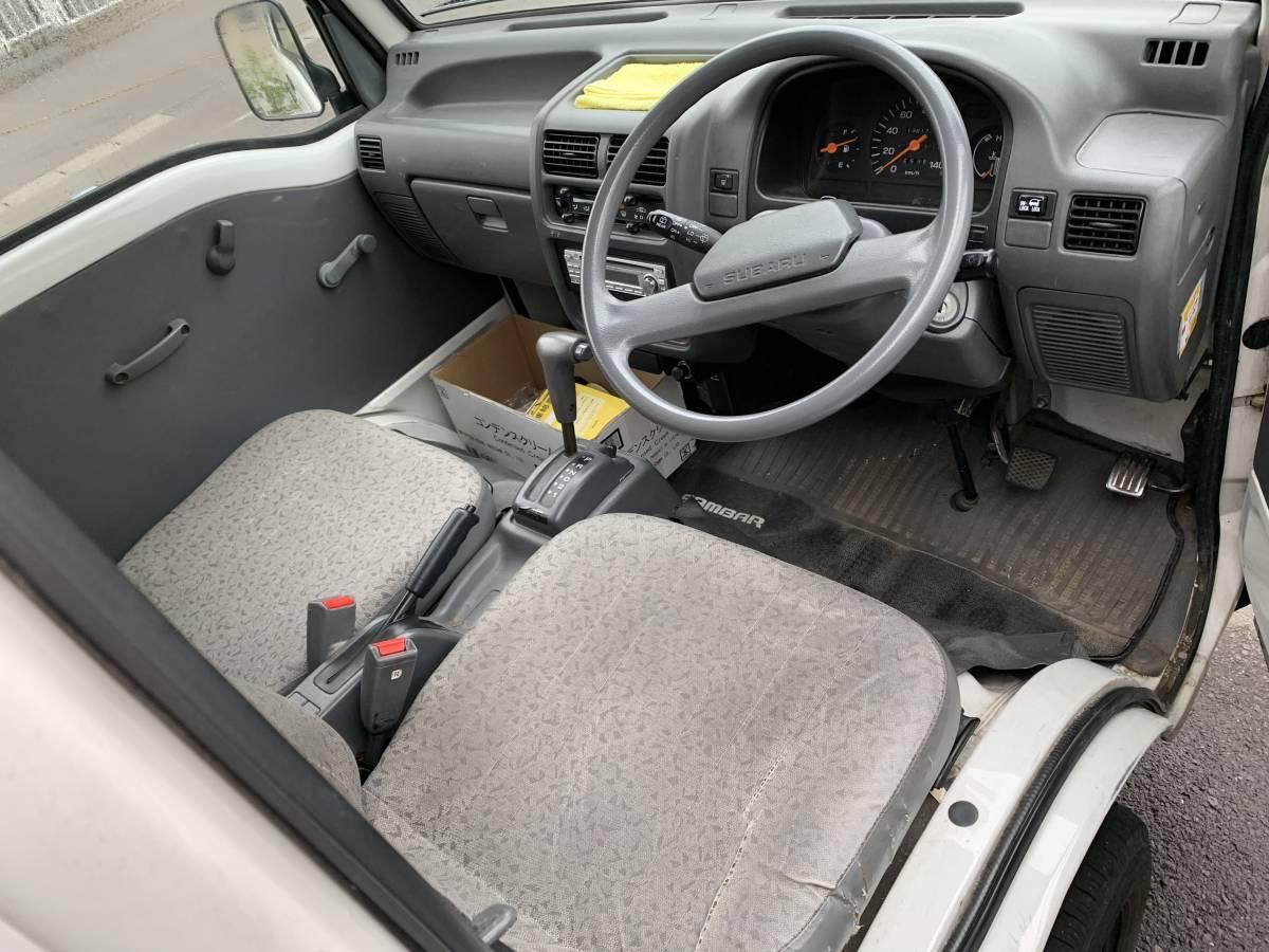 スバル サンバー 4WD AT CVTではありません。車検長_画像2