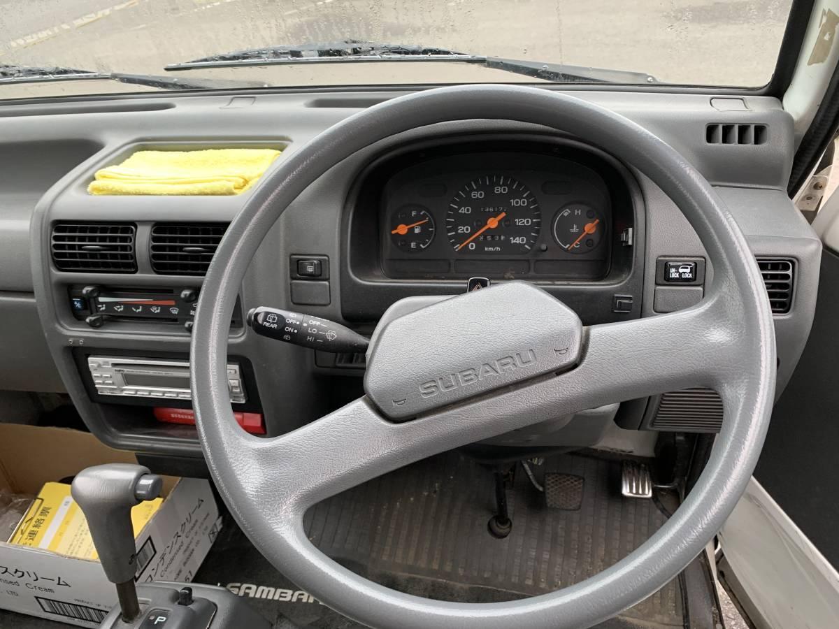 スバル サンバー 4WD AT CVTではありません。車検長_画像8
