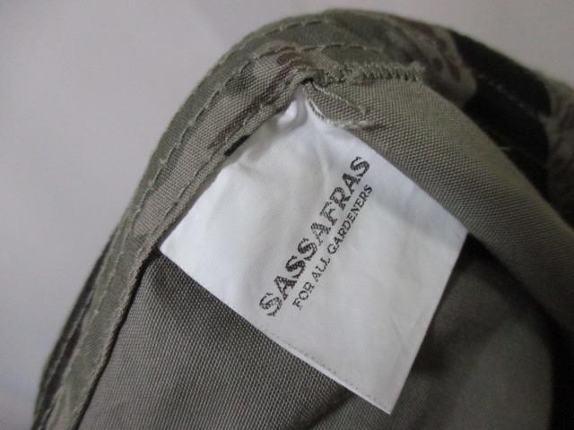 *1円~ 未使用 SASSAFRAS ササフラス BOTANICAL SCOUT PANTS 1/2 ボタニカルスカウトパンツ ショーツ TIGER CAMO タイガーカモ 迷彩 XL FK_画像7