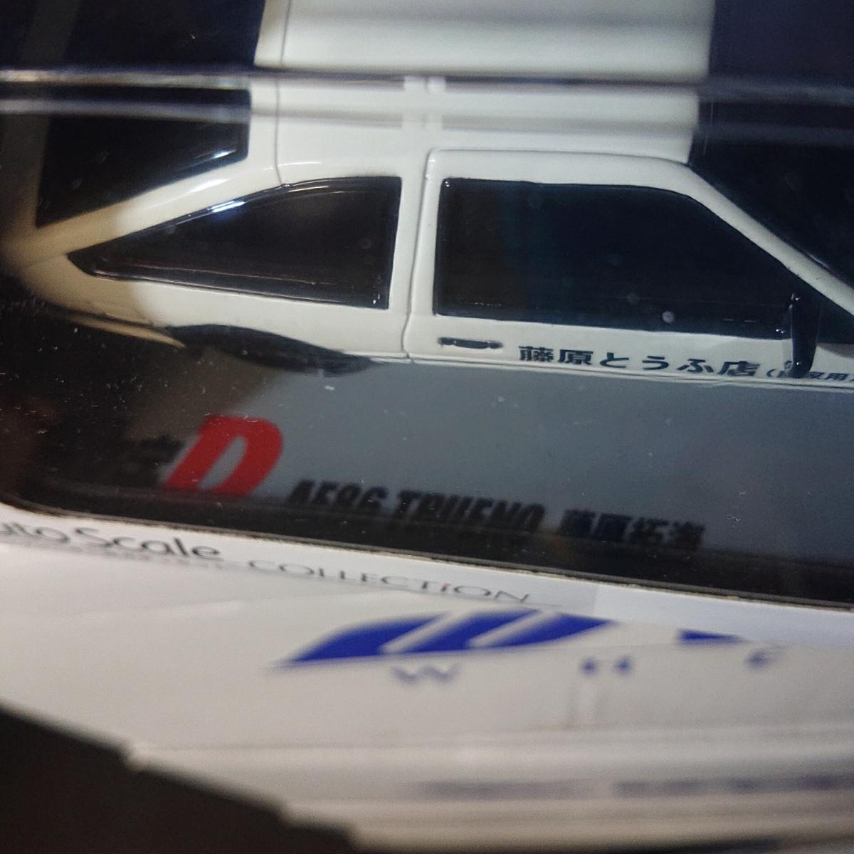 ミニッツ MINI-Z 頭文字D トレノ 86 カーボンボンネット 未走行車 MR-015RM グロスコート_画像7