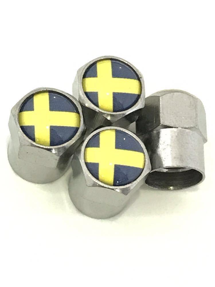 スウェーデン シートベルトカバー 肩パッド 国旗 バルブキャップ ボルボ VOLVO V70 V40 V60 V50 XC60 XC90 240 244 264 740 760 780 850_画像5